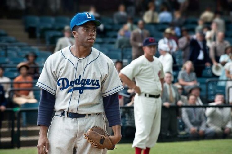The American Hero who singlehandedly broke the color barrier in MAjor League Baseball, 1947.
