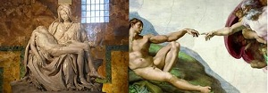 Michelangelo's Pieta and The Sistine Chapel