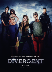 Divergent opened last weekend #1 in the Box Office