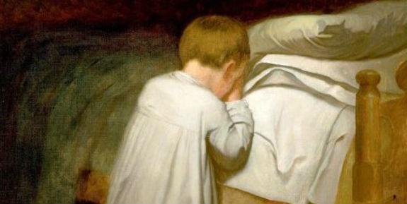 eastman_johnson_child_at_prayer_circa_1873