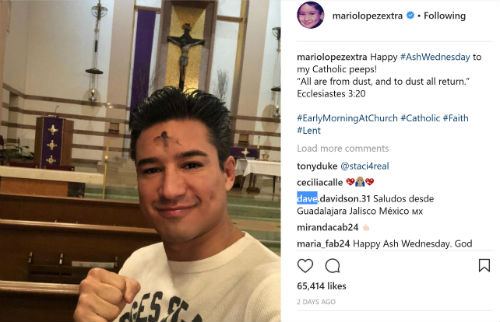 Mario Lopez And His Beautiful Catholic Family Video